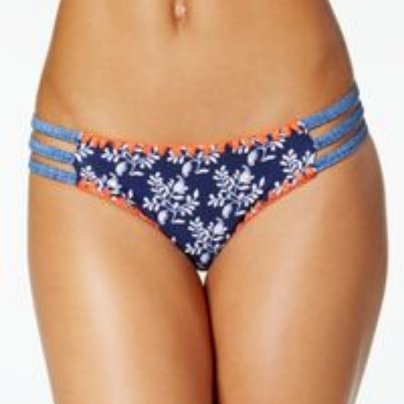 44fd0f32d1 Jessica Simpson Swim | Vine About Strappy Bikini Bottom | Poshmark